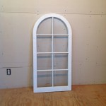 Custom wood casement window sash