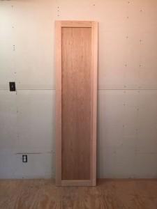 Custom wood interior cherry door