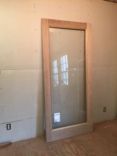 Wood custom French doors – Jim Illingworth Millwork, LLC