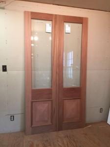 Interior custom wood doors
