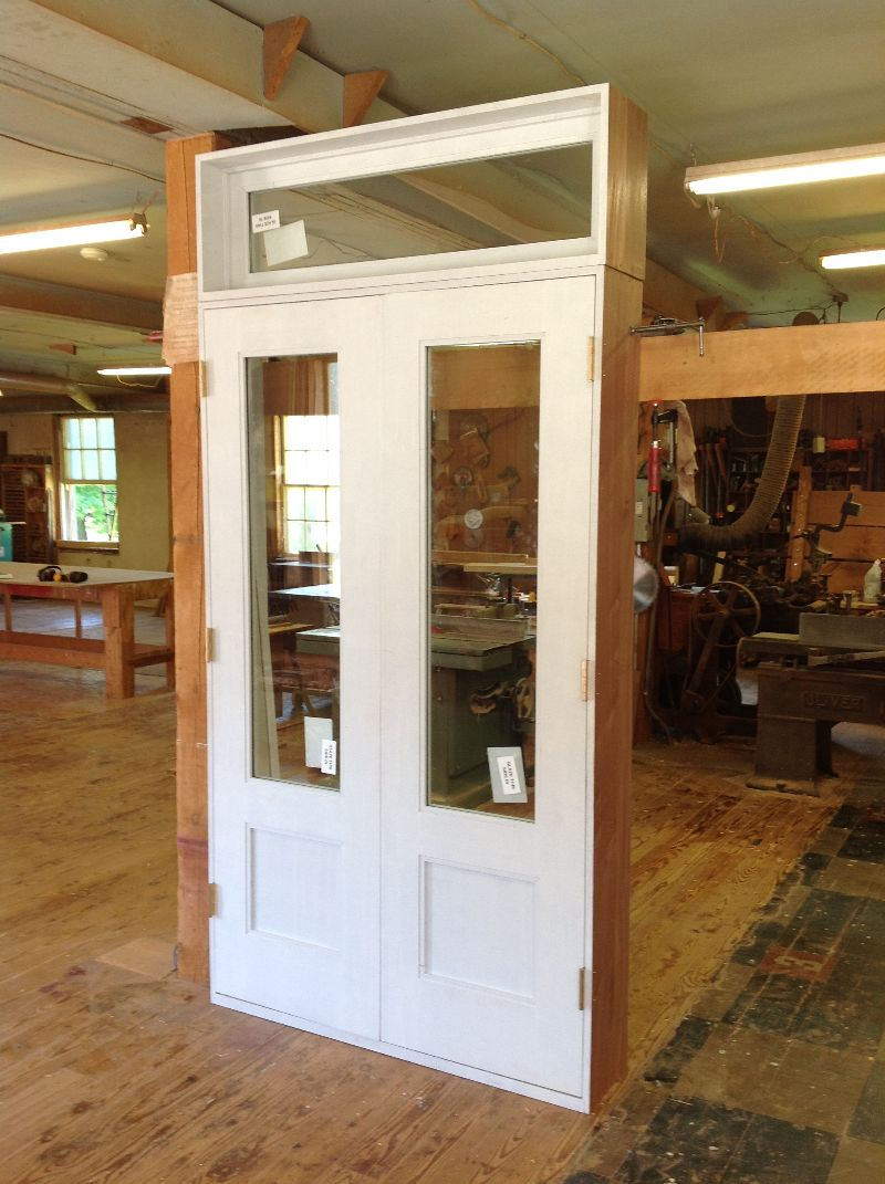 Wood custom doors jim illingworth millwork llc for Custom transom
