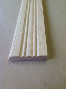Custom wood casing molding