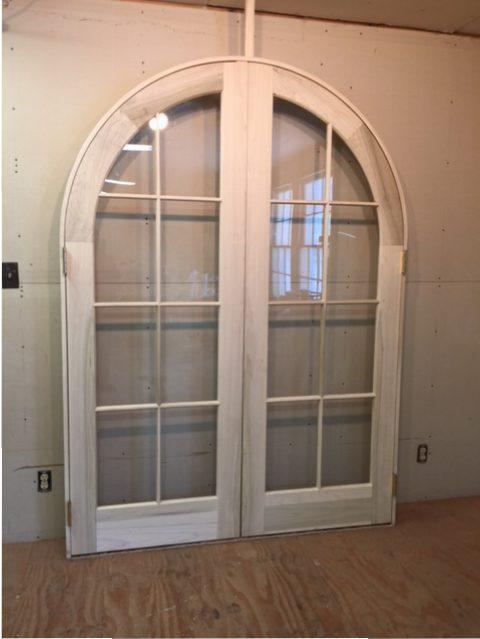 Wood Custom Arched Top Doors Jim Illingworth Millwork Llc