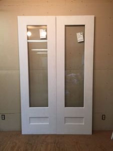 Exterior custom wood doors