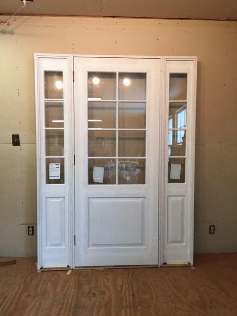 Wood Custom Entryway Doors Jim Illingworth Millwork Llc