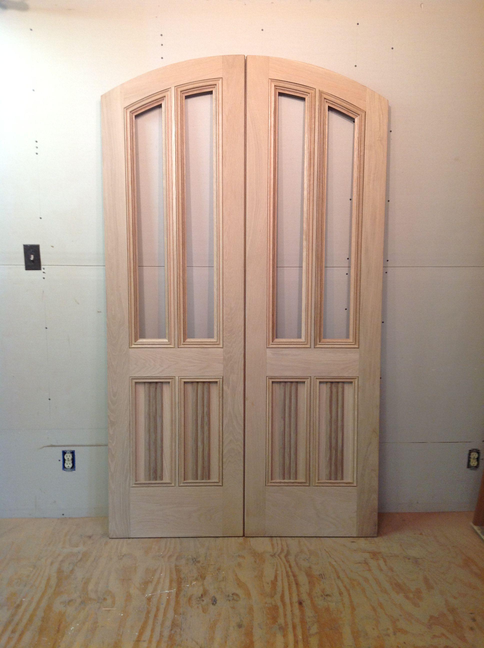 2592 #915C3A Wood Custom Entryway Doors – Jim Illingworth Millwork LLC wallpaper Radius Top Entry Doors 38951936