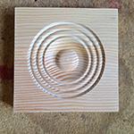 Custom wood rosette
