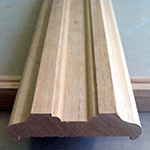 Custom wood trim casing molding