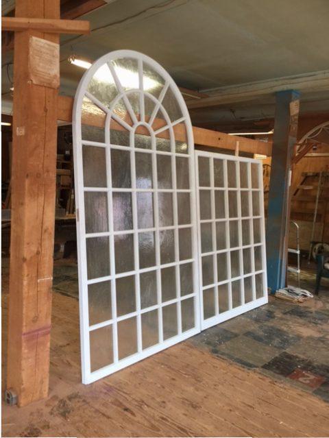 Wood Custom Arched Top Windows Jim Illingworth Millwork Llc
