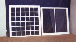 Custom wood reproduction window sashes