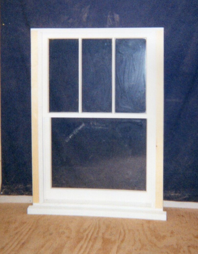 Wood custom double hung windows jim illingworth millwork for Double hung window