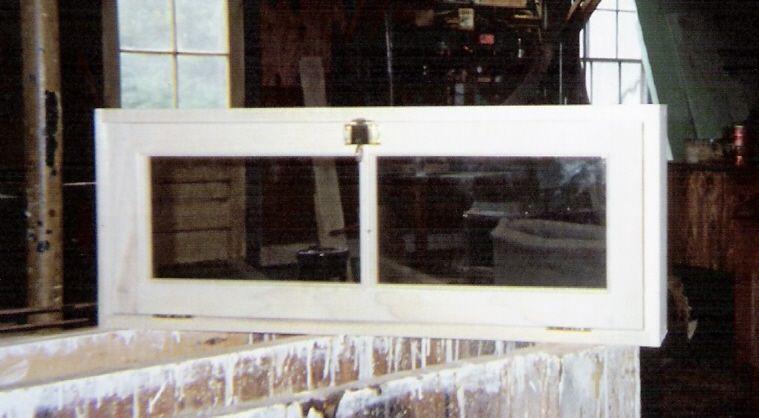 Wood Custom Transom Windows Jim Illingworth Millwork Llc