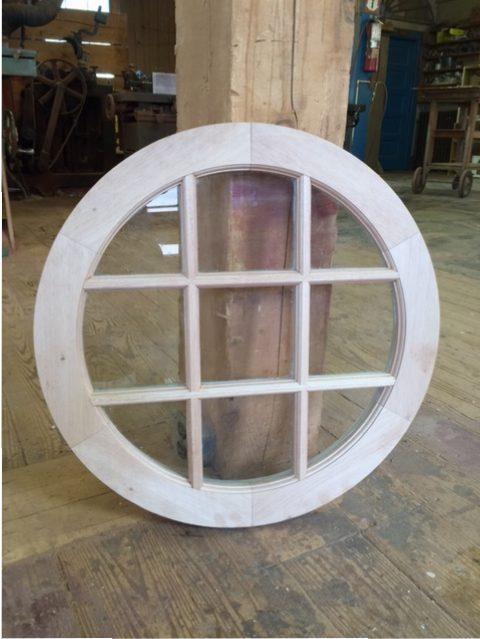 Wood Custom Attic Windows Jim Illingworth Millwork Llc