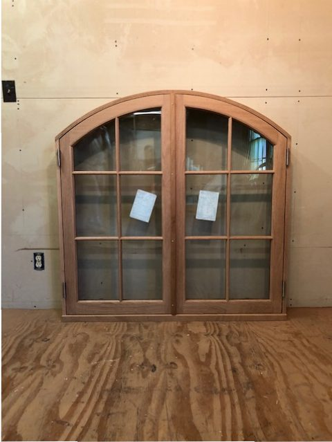Wood Custom Arched Top Windows Jim Illingworth Millwork Llc